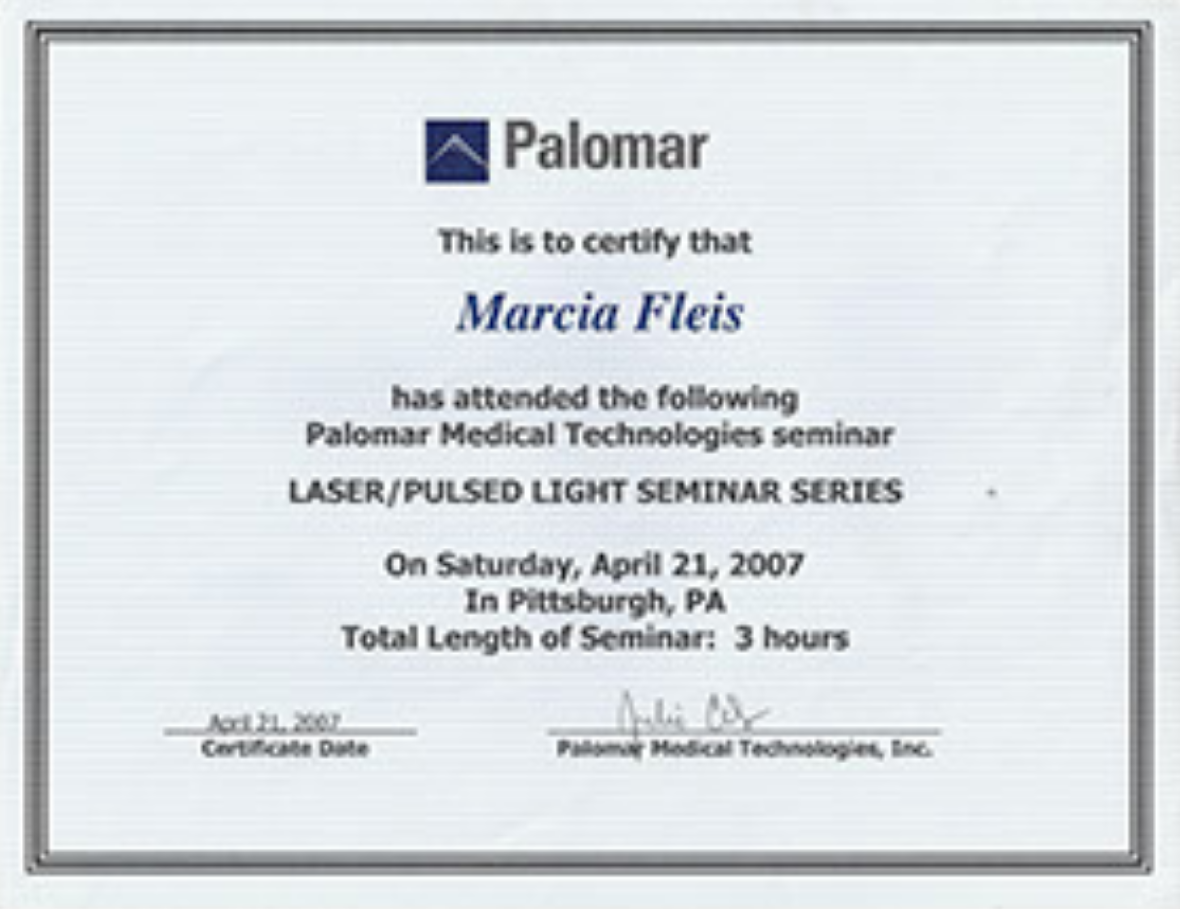 Certified Laser Technician