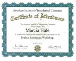 Eyelash Extension Certification AIIC