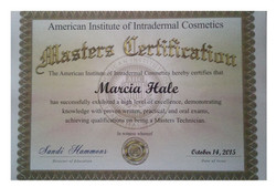 Masters certification from AIIC