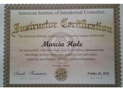 Instructor's Certificate