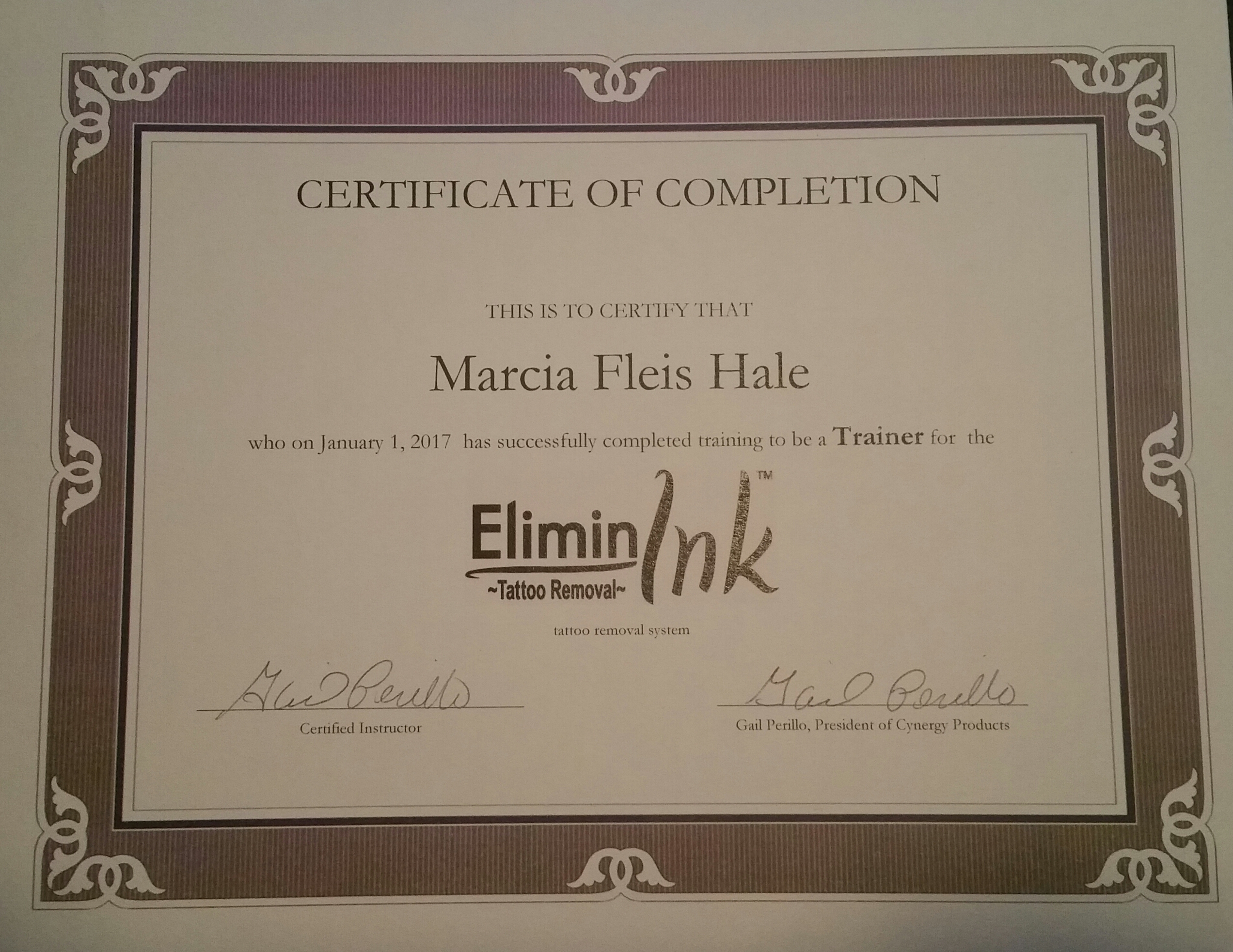 Eliminink Tattoo Removal Trainer
