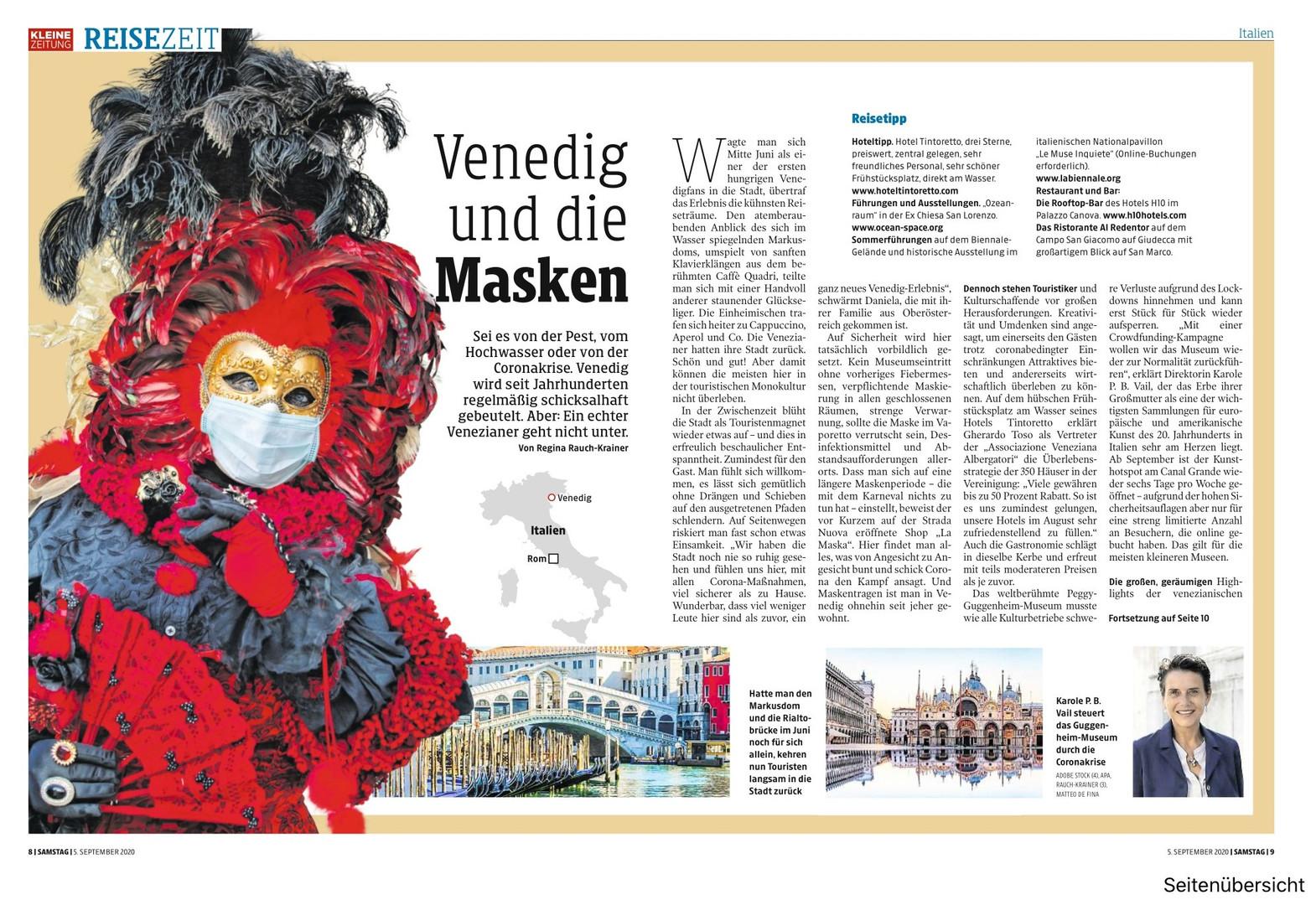 Venedig und die Masken