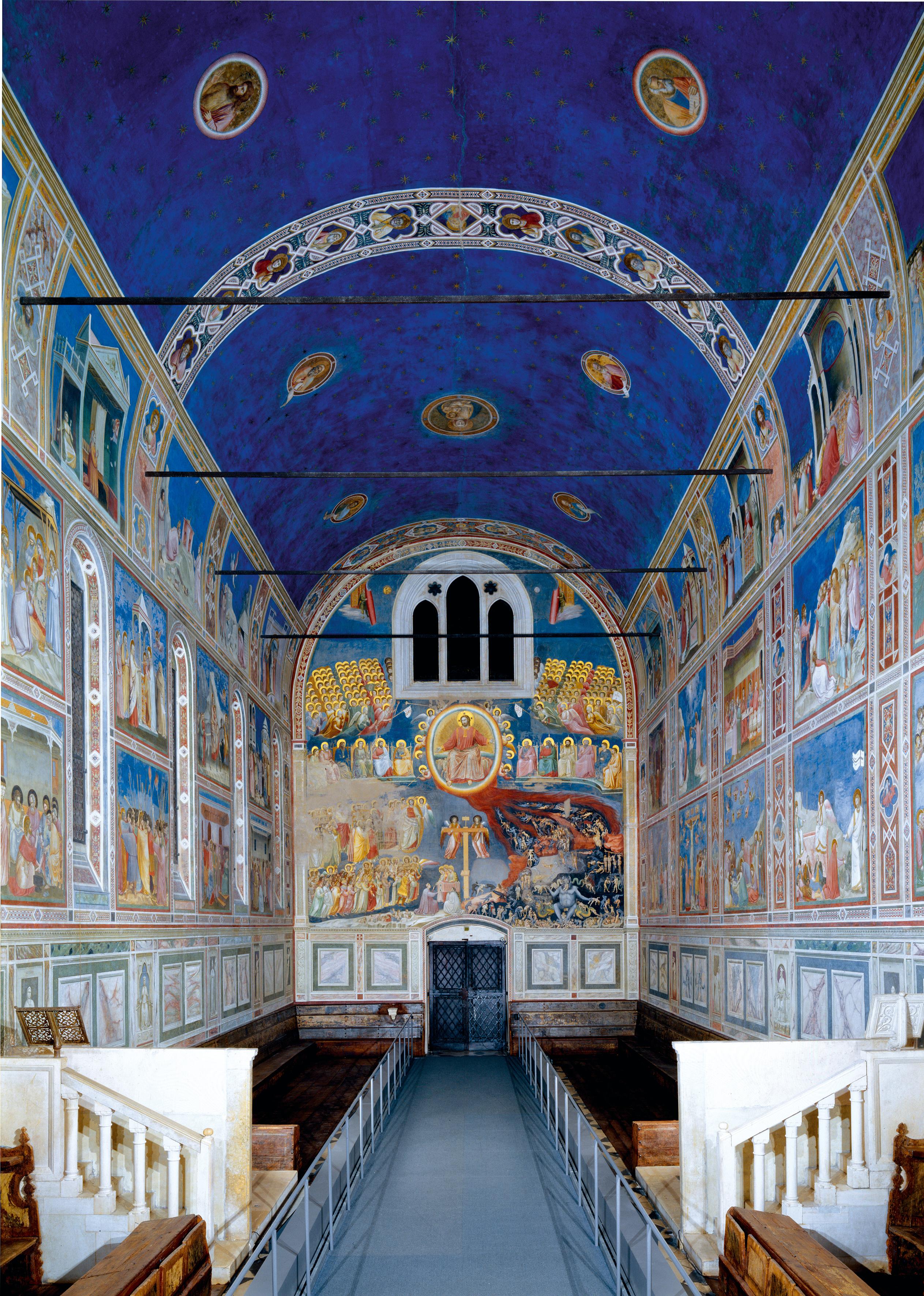 02 Cappella Scrovegni affreschi Giotto