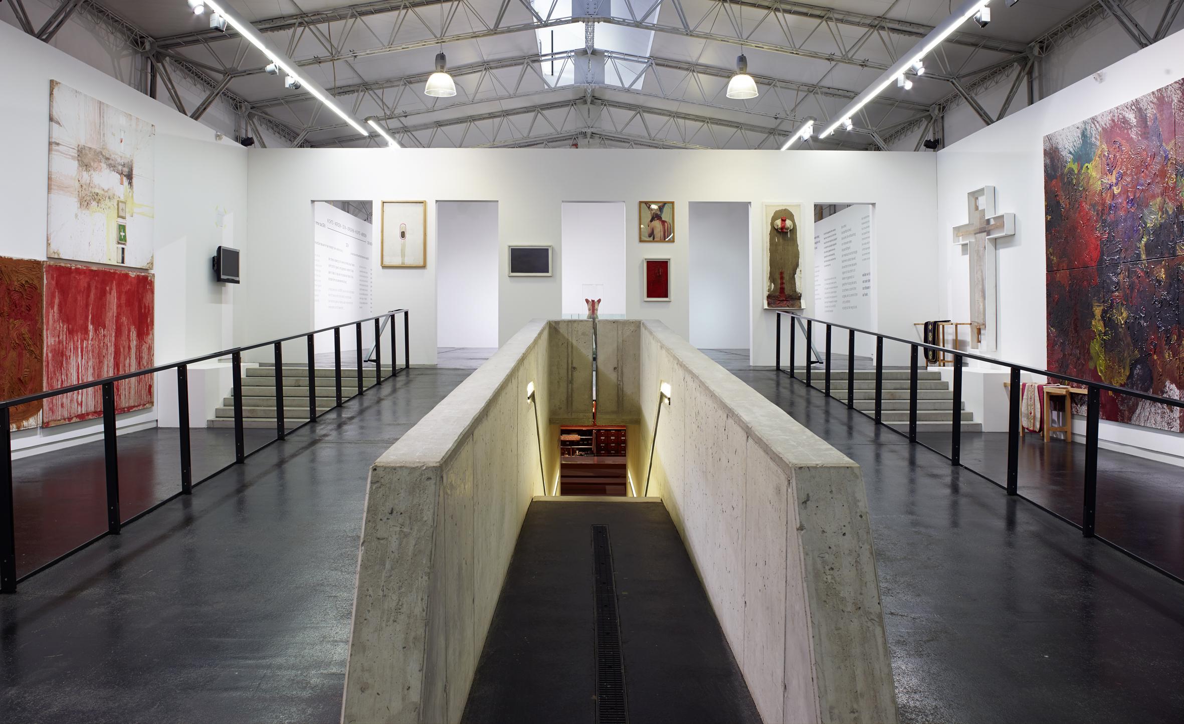 Retrospektive_Sinne und Sein_nitsch museum 2013, Foto Manfred Thumberger