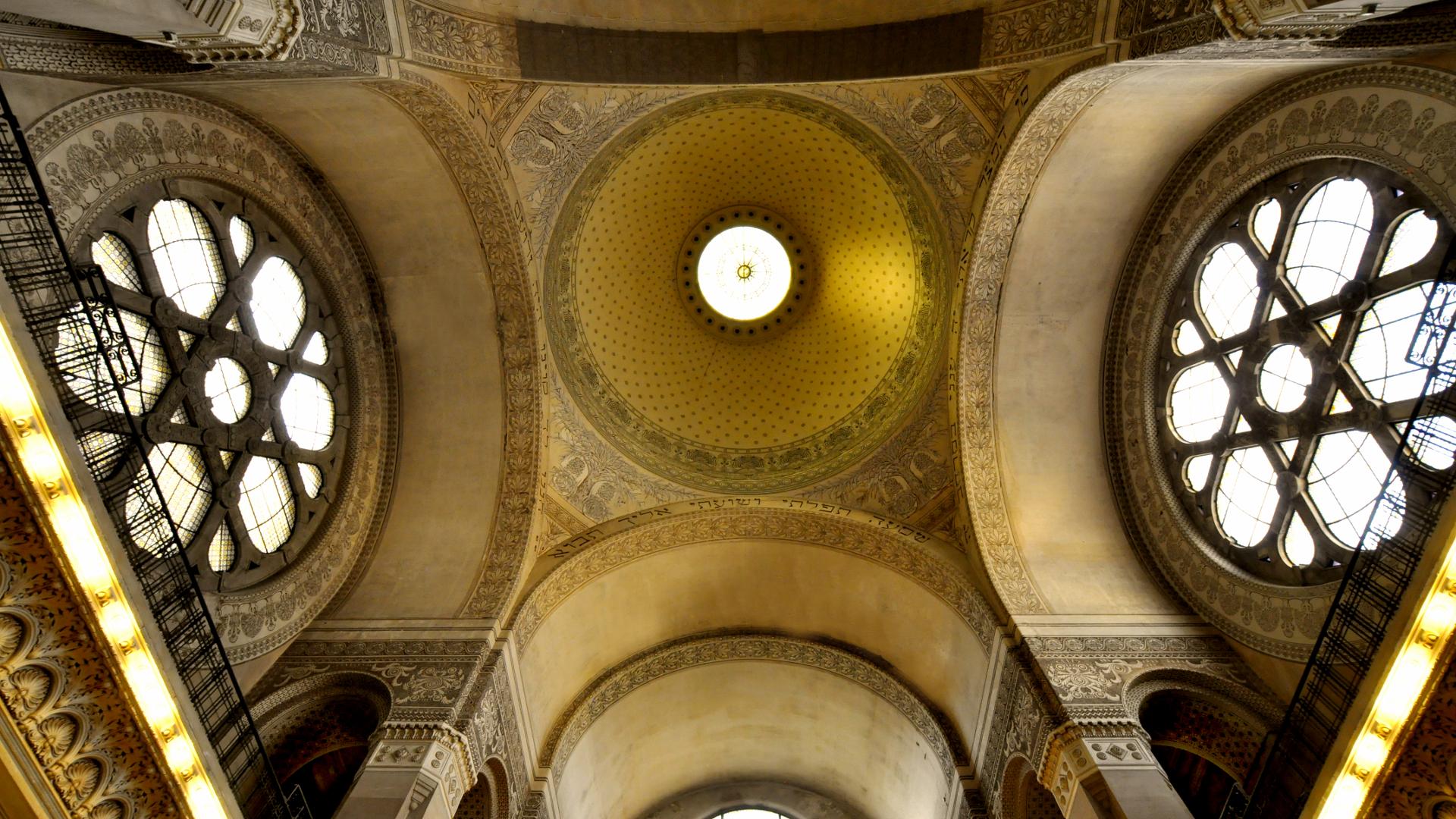Synagoge_particolare_volte-®ROTARI_CLUB_TS