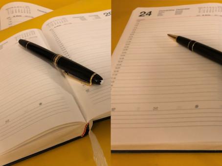 Reise des Lebens: Über das Tagebuch-Schreiben