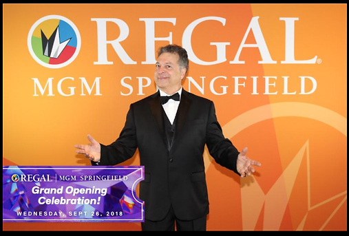 Lenny Zarcone MGM Springfield Regal Ente