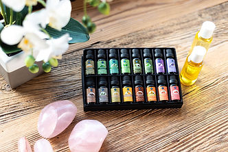 Three Valley Massage Aromatherapy Oils