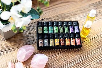 Three Valley Massage Aromatherapy Oils