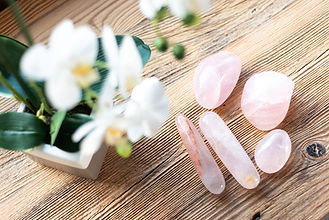 Rose Quartz Crystals Massage