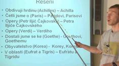 Skloňování podstatných jmen - přejatá
