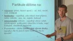 Neohebné slovní druhy 2