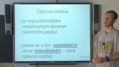 Útvary českého jazyka