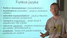 Obecné poznatky o jazyce