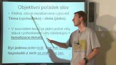 Skladba - syntax 9 - aktuální členění výpovědi