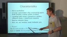 Spojky částice citoslovce - neohebné slovní druhy 2