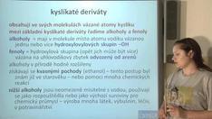 Kyslíkaté deriváty