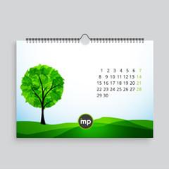 Kalendář nástěnný