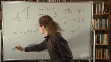 Základní vztahy mezi goniometrickými funkcemi