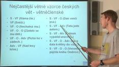 Syntax 10 - Základy valenční skladby