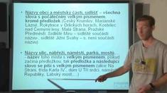 Pravopis 4 - velká písmena