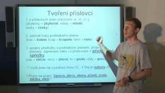 Neohebné slovní druhy 1 - příslovce a předložky