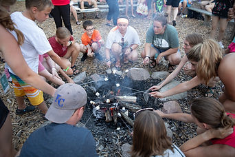 Family Camp s'mores