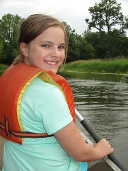 Canoe down the Skunk river!