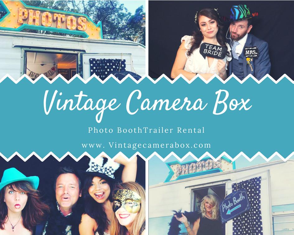 San Diego Vintage photo booth trailer