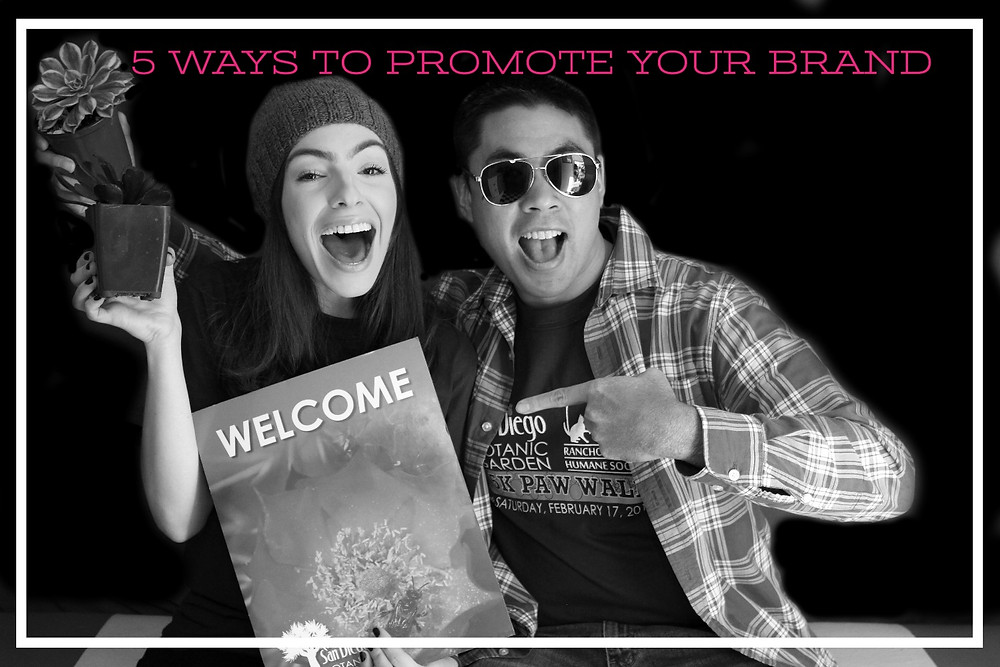 Branding photo booth events
