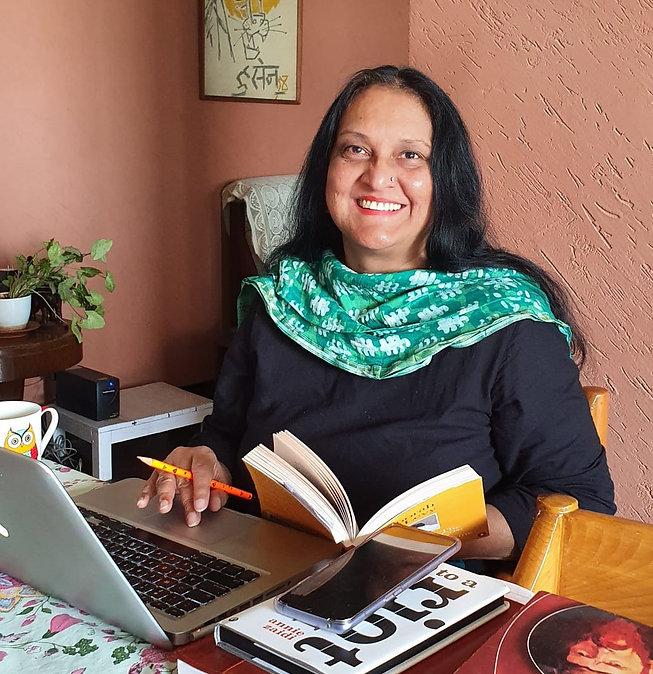 Abha Iyengar at her Desk.jpg