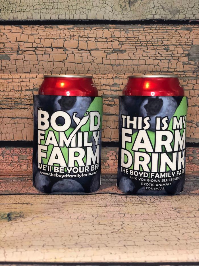 """This Is My Farm Drink"" Koozie"
