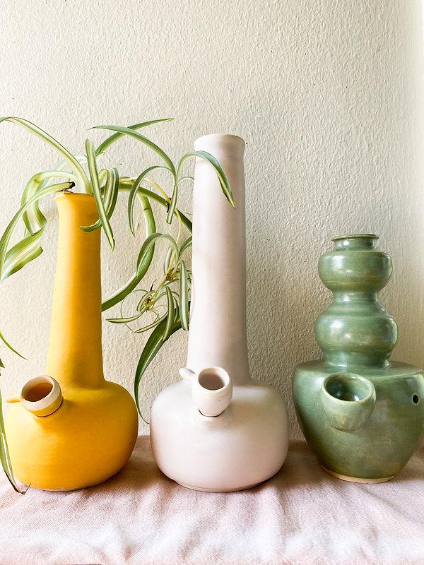TRIO_bongs_golden_day_artworks_ceramics_
