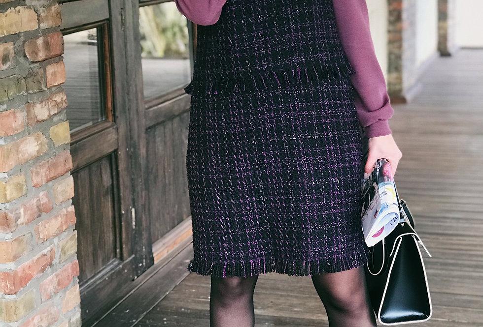 Сарафан Бахрома фиолет