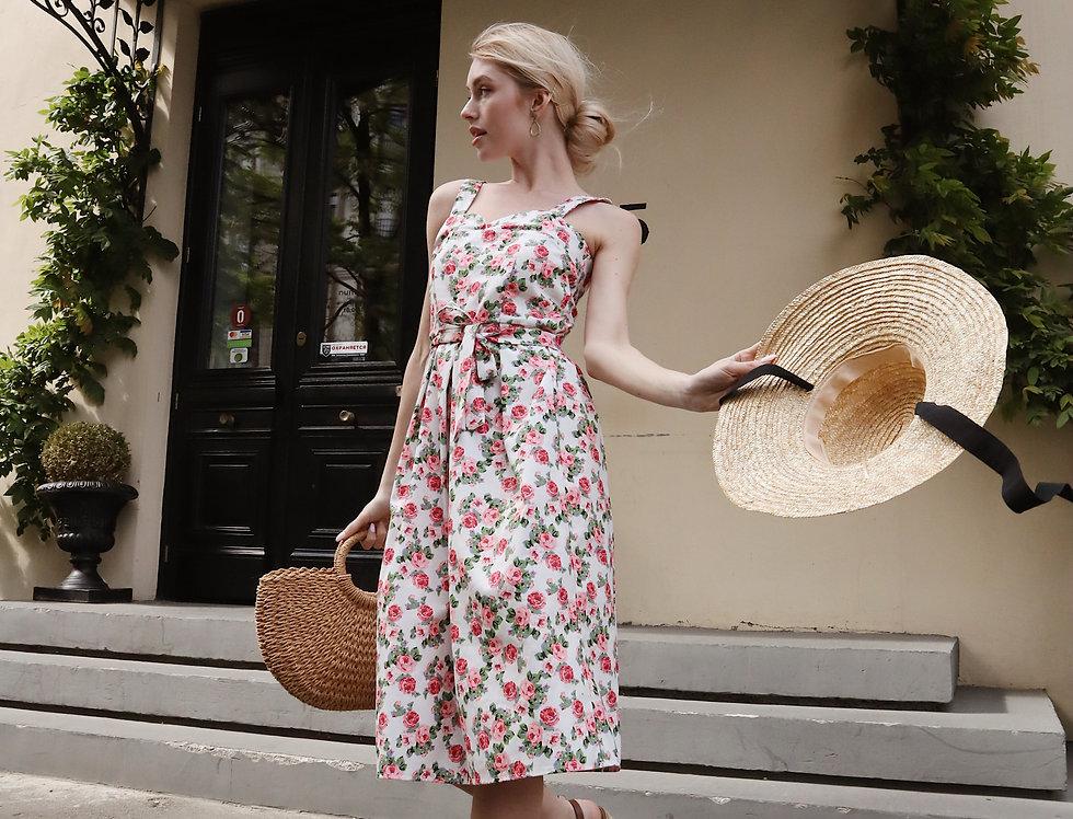 Сарафан Розы юбка в складку