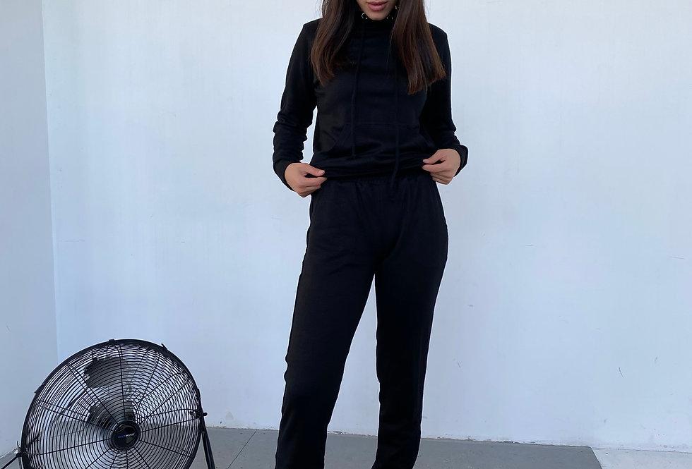 Спортивный костюм Ангора черный