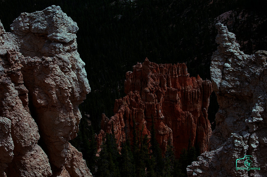Moonlight on Bryce Canyon