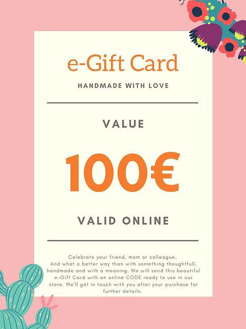 100€ e-Gift Card