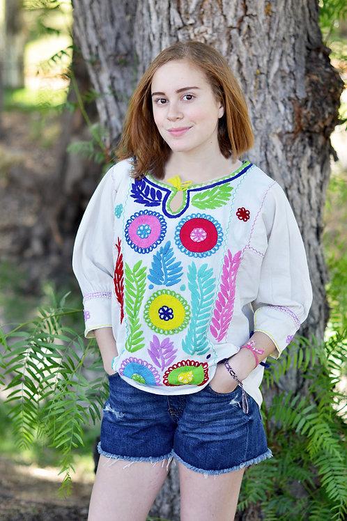 Folk-Boho blouse / Chiapas