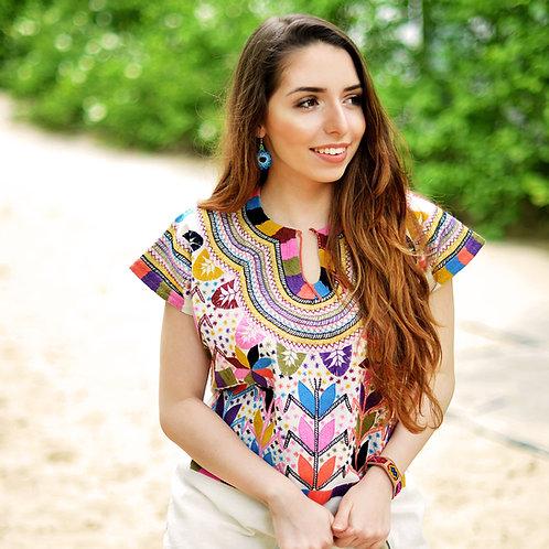 Medium/ Mazorca blouse (short sleeve)