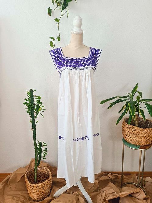 Purple Aguacatenango Dress