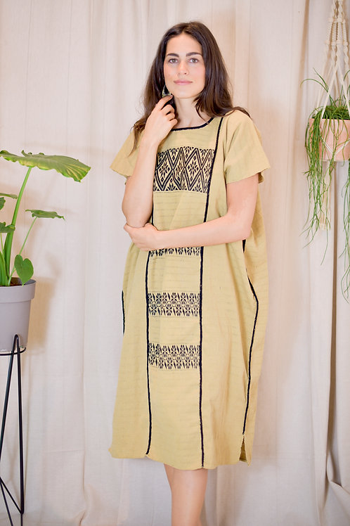One Size/ Huipil 100% hand made in waist loom / one size