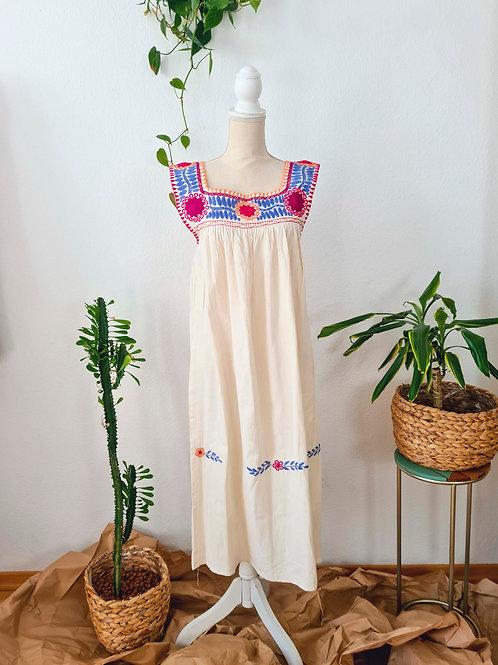 Rainbow Aguacatenango Dress