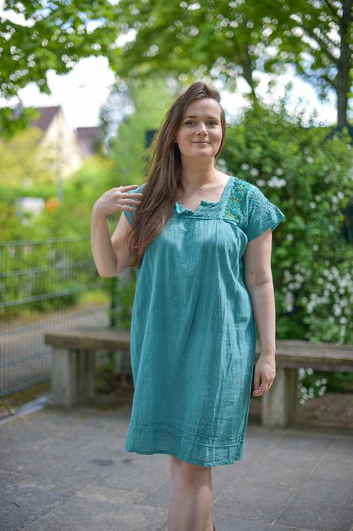 M-L/ San Antonino Dress /Dark Mint