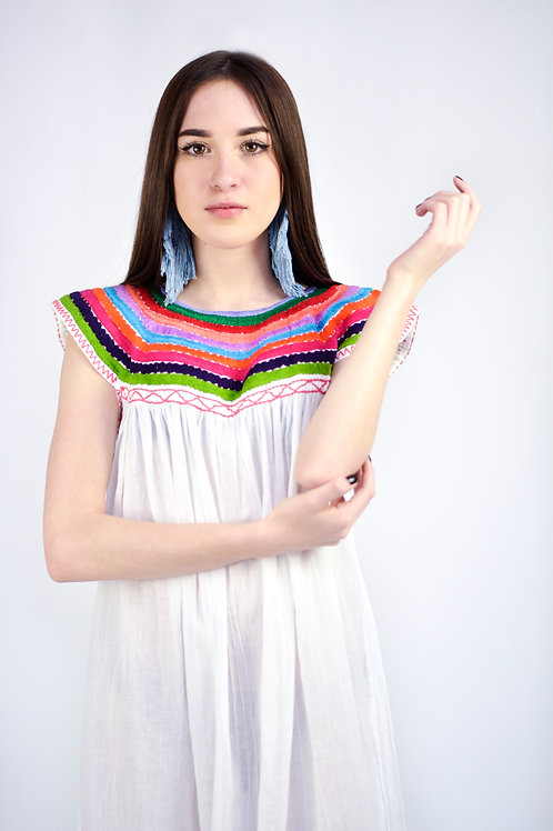 "M-L/ Folk-Boho ""Rainbow"" dress"