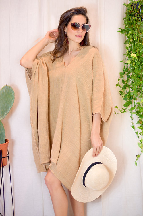 One size/ Organic Cotton Golden Tunic