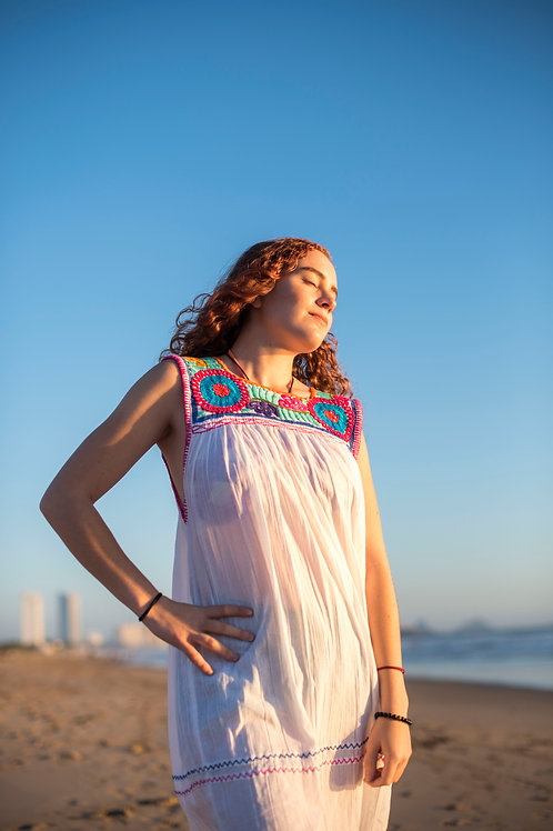 Bohemian Aguacatenango dress