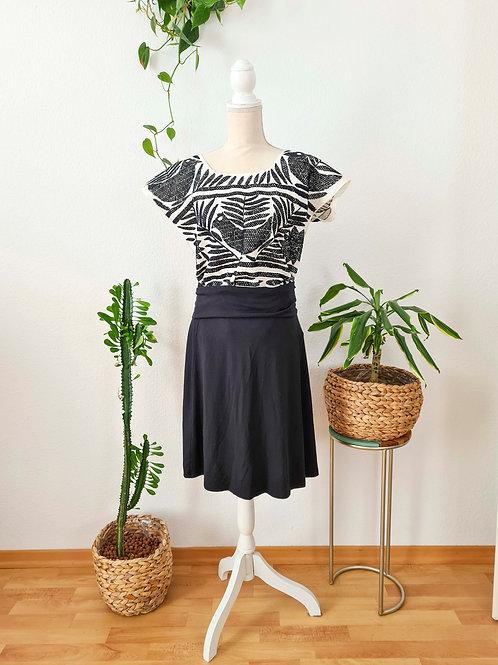 Black PalmitaTop Huipil