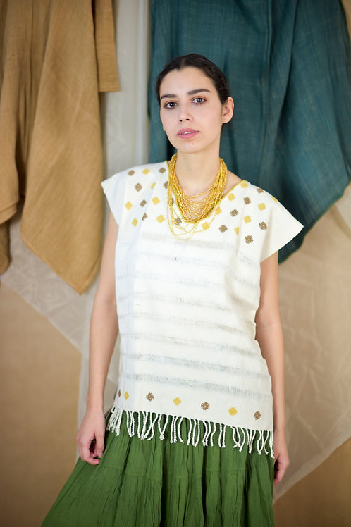 M/ Hand woven huipil / San Andrés Larrainzar
