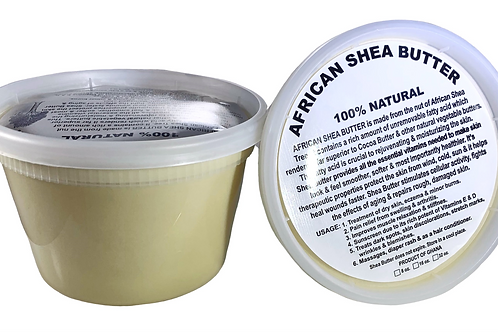 Ivory (White) Shea Butter 16oz (2 Pack)